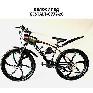 Велосипед GESTALT G777 26 титан, фото 2