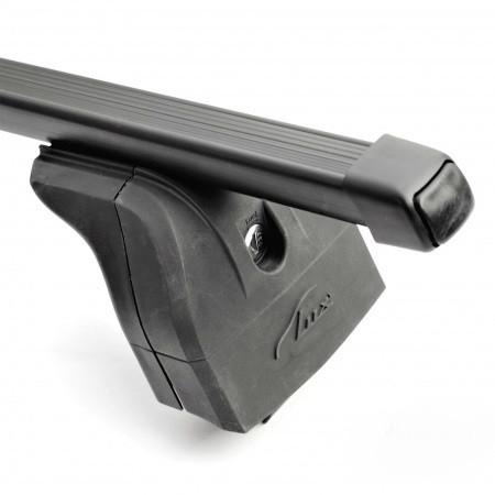 """Багажная система """"LUX"""" с дугами 1,2м прямоугольными в пластике для а/м Lifan Solano 2008-... г.в."""