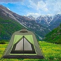 Четырехместная палатка водонепроницаемая автомат 235x235x190 см I tem NO 3056