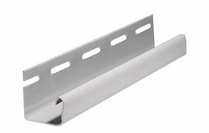 Профиль J для Фасадных панелей Серый 3000 мм