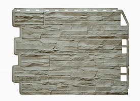 Фасадные панели Скол 3D Facture Светло-Бежевый  795х595 мм (0,41 м2) ДАЧНЫЙ  FINEBER