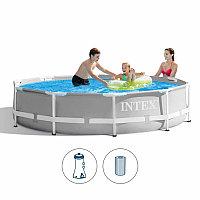 Каркасный бассейн Intex 305 х 76 см с фильтром #26702NP