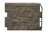 Фасадные панели Туф 3D Facture Дымчатый 795х595 мм (0,41 м2) ДАЧНЫЙ  FINEBER