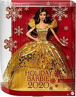 Кукла Барби Рождество-2020 Holiday Barbie латиноамериканка коллекционная Mattel