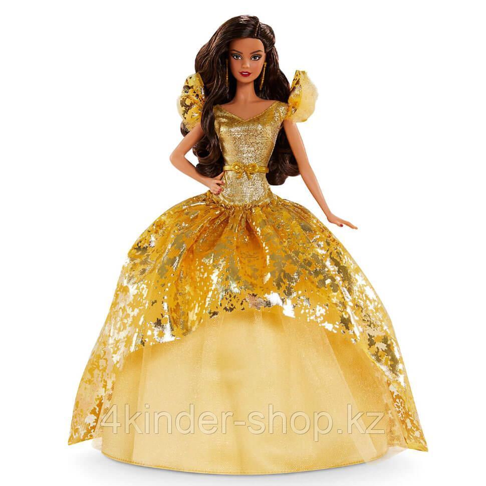 Кукла Барби Рождество-2020 Holiday Barbie латиноамериканка коллекционная Mattel - фото 2