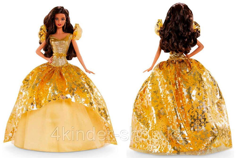 Кукла Барби Рождество-2020 Holiday Barbie латиноамериканка коллекционная Mattel - фото 3