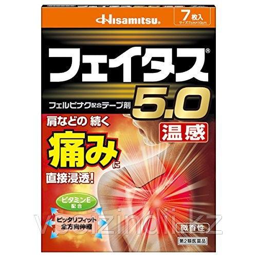 Согревающие пластыри, 10 шт, Hisamitsu пластырь обезболивающий