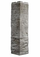 Угол Наружный Светло-бежевый 589х146х146 мм Туф 3D Facture ДАЧНЫЙ FINEBER