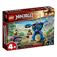 LEGO Ninjago 71740 Конструктор ЛЕГО Ниндзяго Электрический робот Джея