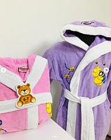 Детский банный халат с мишкой Оригинал, фото 2