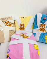 Детский банный халат с мишкой Оригинал, фото 3
