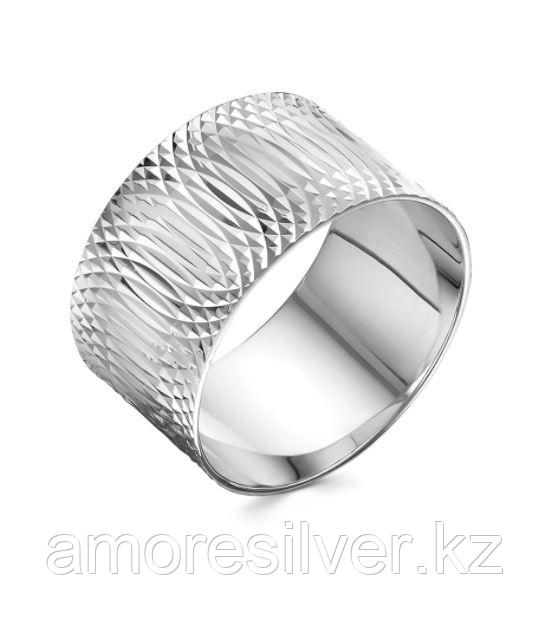 Кольцо Salakatov серебро с родием, без вставок, геометрия 410-15-04 размеры - 19,5