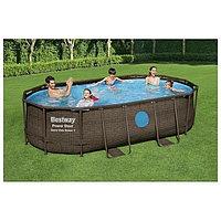 Бассейн Каркасный Power Steel Swim Vista, 427×250 ×100