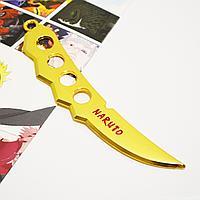 Игрушечное оружие Наруто клинок Чакры цвет золото