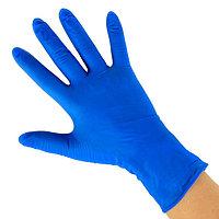 Перчатки, гладкие, НИТРИЛ, 100шт/50 пар в упаковке