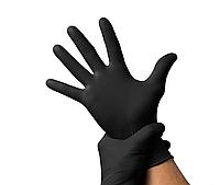 Перчатки, гладкие, НИТРОВИНИЛ, 100шт/50 пар в упаковке