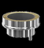 Заглушка с конденсатосборником конусная d115/200 Профи