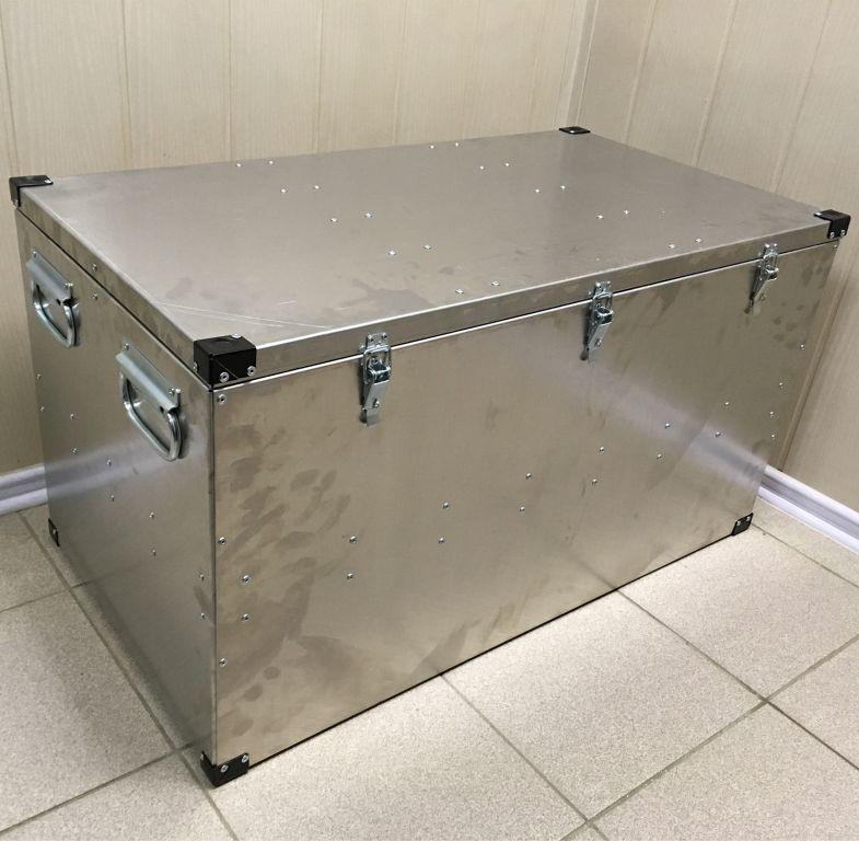Ящик алюминиевый Олимп 850х450х450