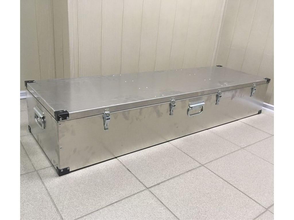 Ящик алюминиевый Олимп 1400х400х220