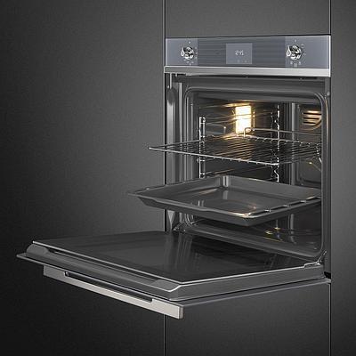 Духовой шкаф SMEG SF6100VS1 черный