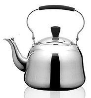 5937 FISSMAN Чайник для кипячения воды и заваривания чая с ситечком ROOIBOS 1 л (нерж. сталь)