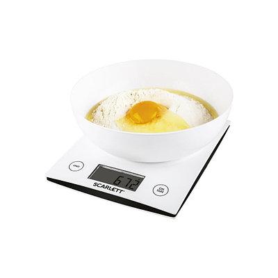 Кухонные весы SCARLETT SC KS57B10 (белый)