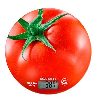 Кухонные весы SCARLETT SC KS57P38 (помидор)