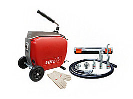 Электромеханическая машина для прочистки труб VOLL V-Clean 250