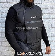 Жилетка (безрукавка) Adidas Terrex весна - осень, черная