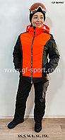 Женский горнолыжный костюм Bogner (оранжевый)