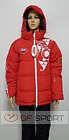 Костюм женский горнолыжный Russia(красный)