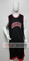 Форма баскетбольная Chicago Bulls(черная)