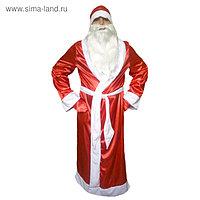 """Карнавальный костюм """"Дед Мороз"""", атлас, р.48-50, рост 176 см"""