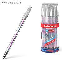 Ручка гелевая ErichKrause Magic Rhombs 0,5 мм, синий стержень с рисунком