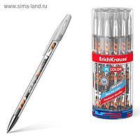 Ручка гелевая ErichKrause Walkers 0,5 мм, синий стержень с рисунком