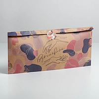 Пакет упаковочные «Вдохновляй», 40 × 25 × 6 см