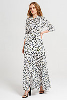 Женское летнее бирюзовое платье Панда 16880z мультиколор 42р.