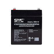 Аккумуляторная батарея SVC SS5-12 12В 5 Ач, фото 2
