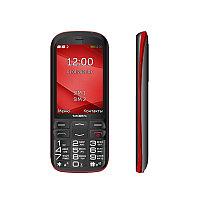 Мобильный телефон Texet TM-B409 черный-красный