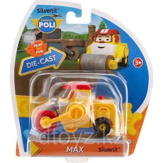 Poli Robocar Дорожный каток Макс (серия - металлическая, 6 см), 83176