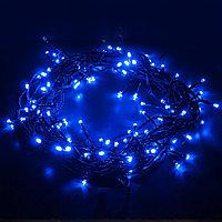 400-001/ новогодняя гирлянла нить/ Голубой (5 м) (ЭКСТ)