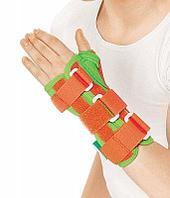 Ортез лучезапястный Orlett WRS-302 (P) детский удлиненный для сильной фиксации сустава