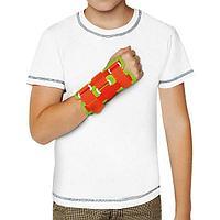 Ортез лучезапястный Orlett WRS-202 (P) детский для сильной фиксации сустава, зеленый