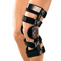 Ортез коленный Orlett PO-303 шарнирный жесткий ,черный