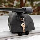 """Багажная система """"LUX"""" с дугами 1,2м прямоугольными в пластике для а/м Nissan Almera Sedan III 2012-, фото 3"""