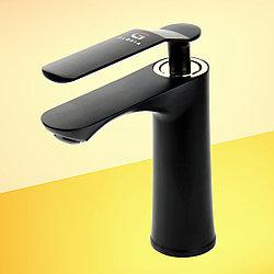 Смеситель для раковины GLORIA SmartFlow® BR010 черный/золото