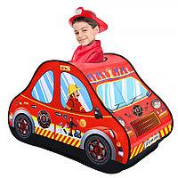 PITUSO Дом + 50 шаров Пожарная машина,118*72*68см,18 шт.в кор., фото 1