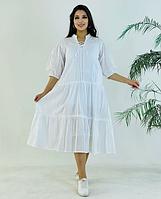 Женское платье белого цвета
