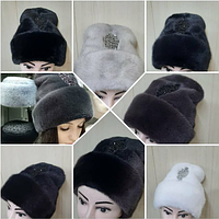 Норковая шапка в 5 расцветках
