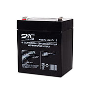 Аккумуляторная батарея SVC AV4.5-12 12В 4.5 Ач, фото 3